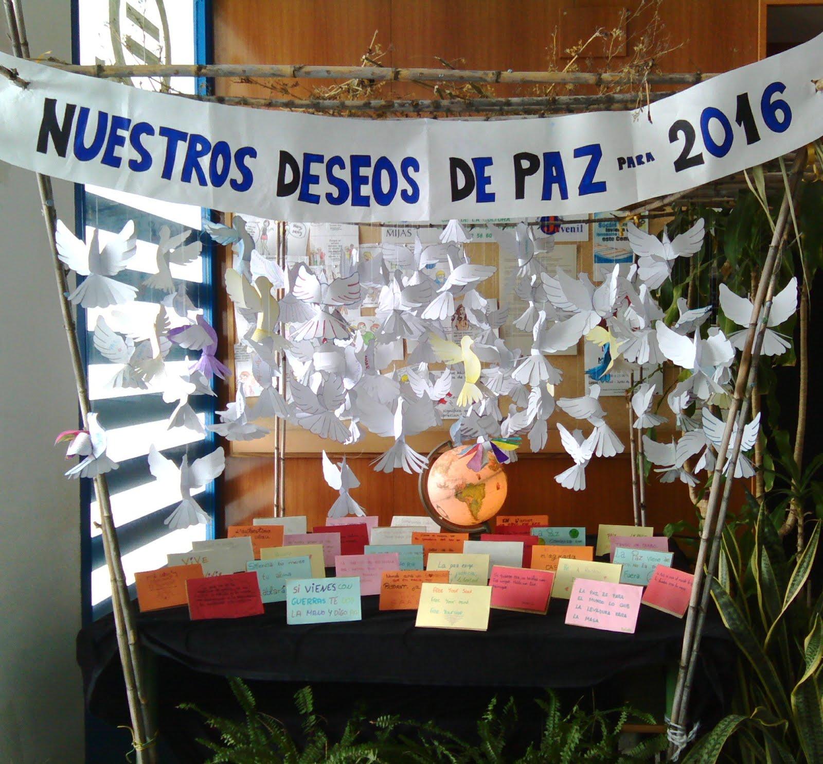 Deseos de PAZ para el 2016