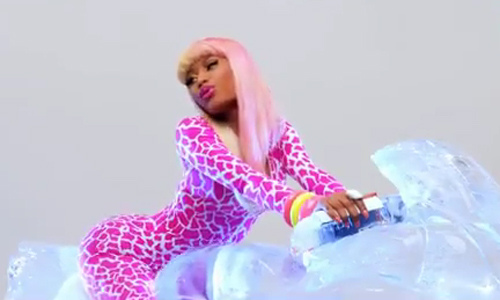 nicki minaj super bass makeup. nicki minaj super bass album
