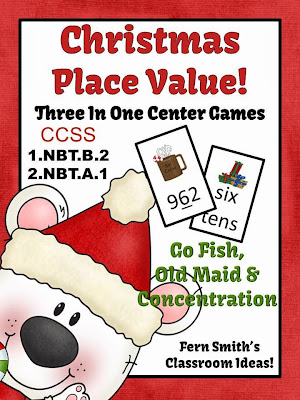 http://www.teacherspayteachers.com/Product/Place-Value-Christmas-Concentration-Go-Fish-Old-Maid-for-Common-Core-796208