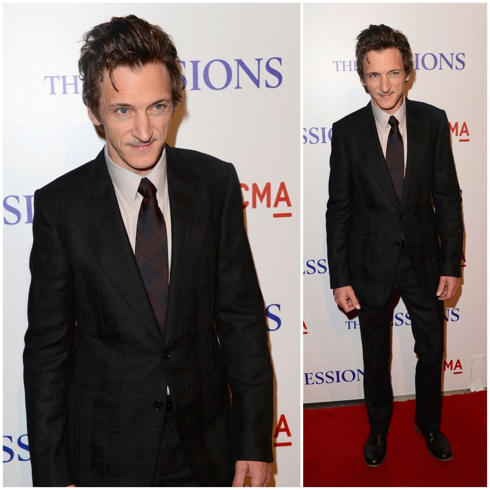 00O00 London Menswear Blog John Hawkes Alexander McQueen suit The Sessions premiere