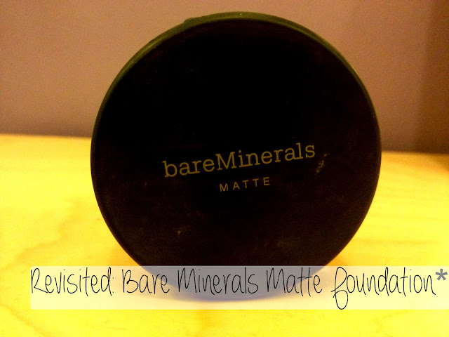 Bare Minerals Matte Foundation in Medium Beige