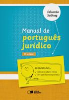 Manual de Português Jurídico - 7ª Ed. - 2013