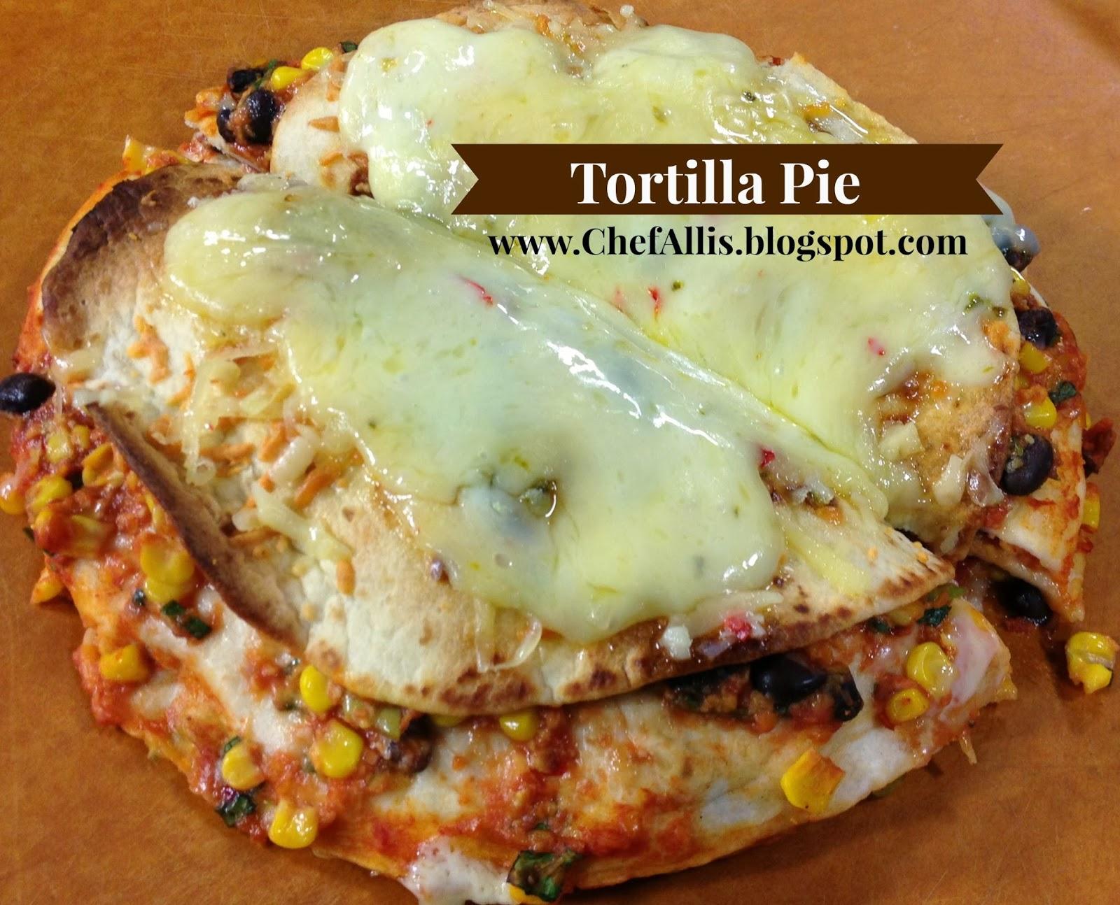Chef Alli's Farm Fresh Kitchen: Alma Creamery Tortilla Pie