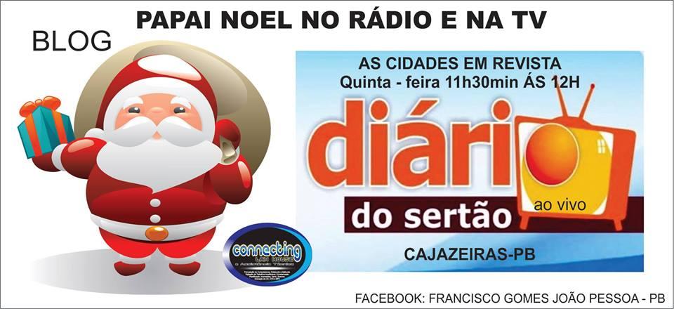 TV  DIARAIO DO SERTÃO  A TV  QUE  VER  DIRETO  DE CAJAZEIRAS PB PARA O BRASIL