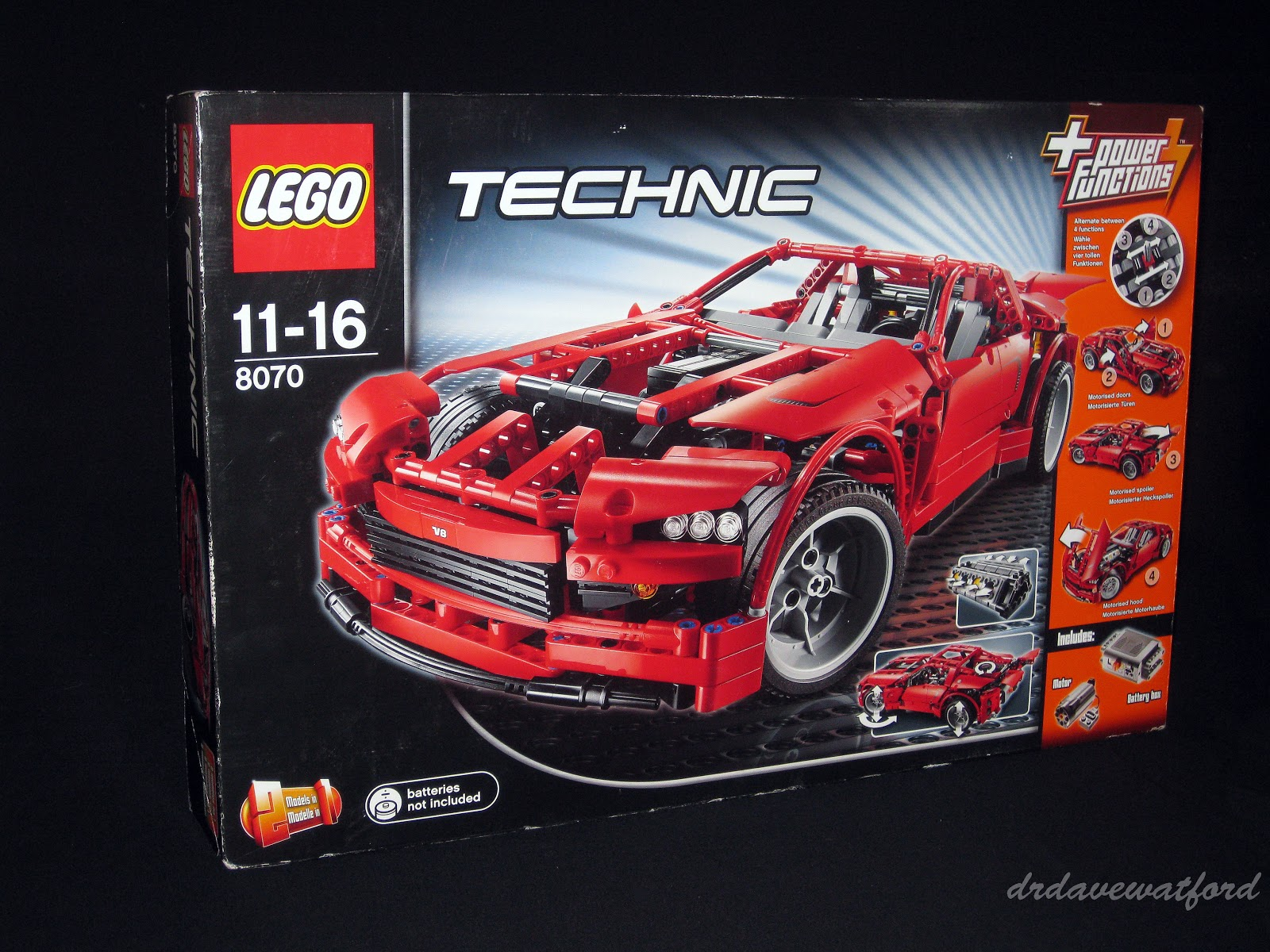 Gimme lego technic temptation for 1 box auto