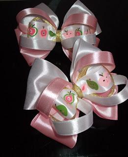 Красивые бантики для маленьких принцесс))) Bantiki+009