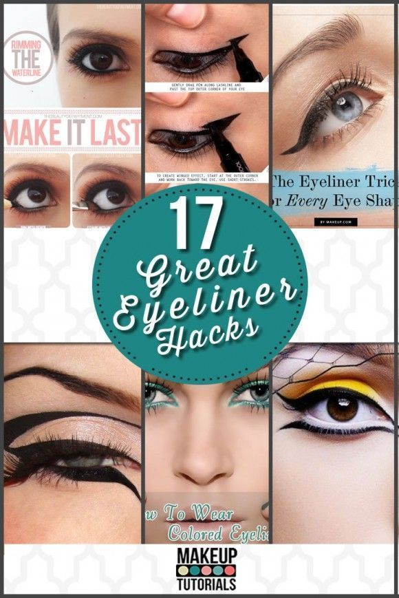 17 Great Eyeliner Hacks