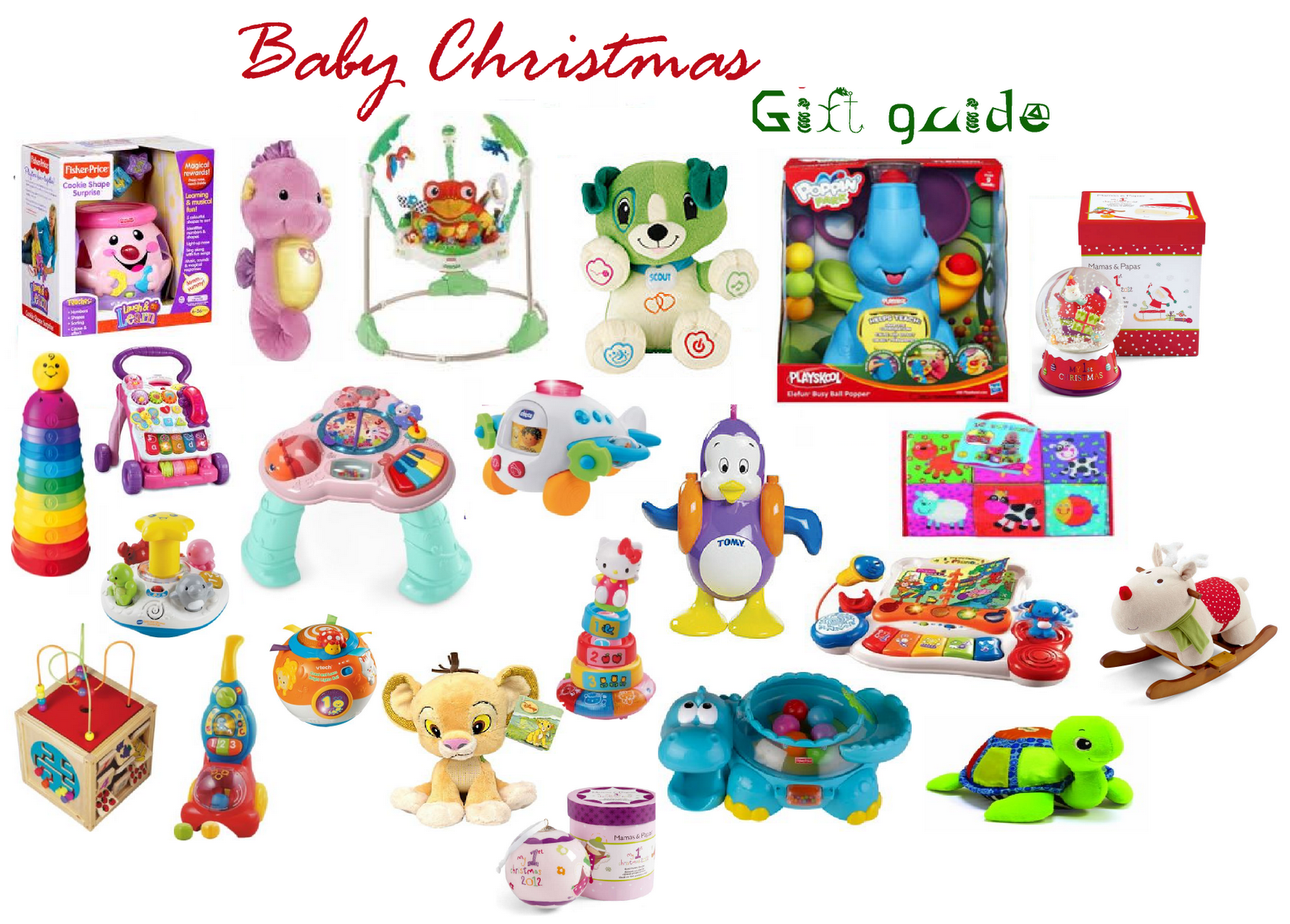 Baby Gift Ideas For Christmas : Baby christmas gift guide oh so amelia