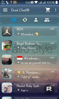 BBM Droid Chat! Transparan Beta v2.90.0.1.217