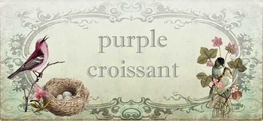 purple croissant