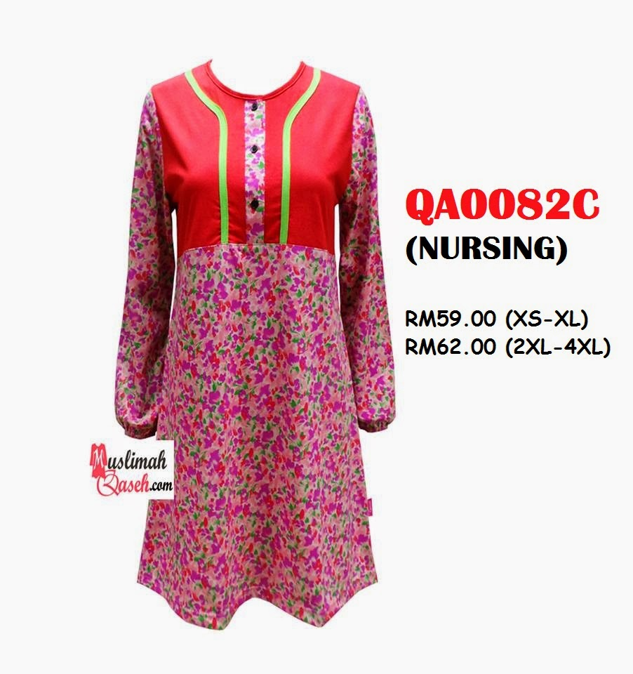 T-Shirt-Muslimah-Qaseh-QA0082C