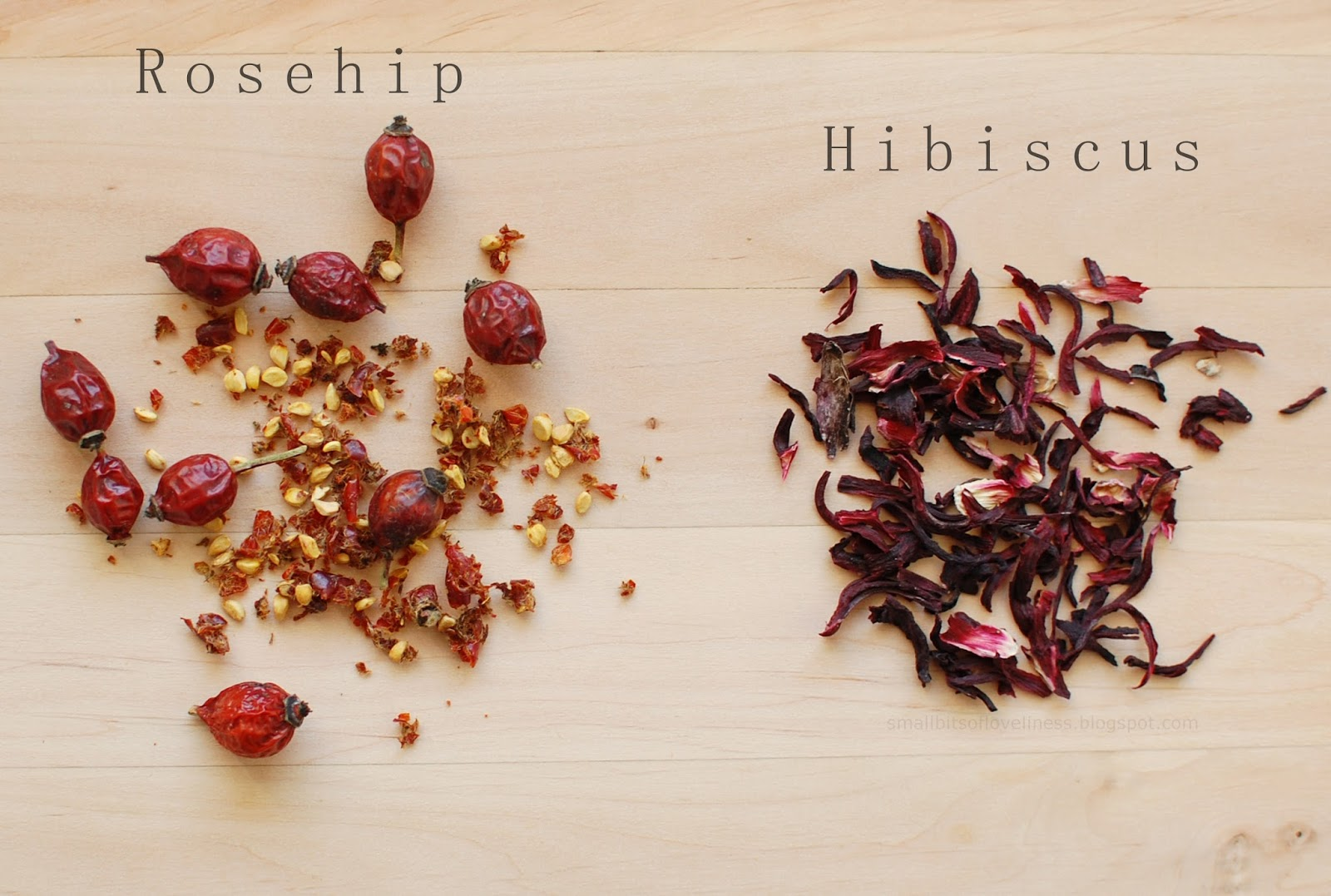 Rosehip Hibiscus DIY Face Mask