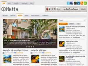 Netta - Free Wordpress Theme
