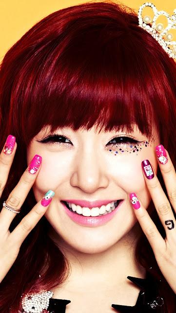 SNSD - Baby G - Tiffany - Stephanie Hwang, Hwang Mi-young
