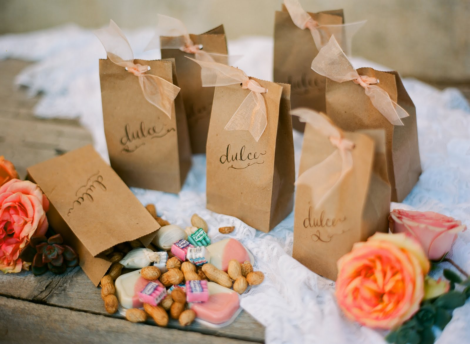Wedding Favor Bag Ideas : Que linda eres!!!!! De verdad esa era la idea que yo ten?a en mente ...