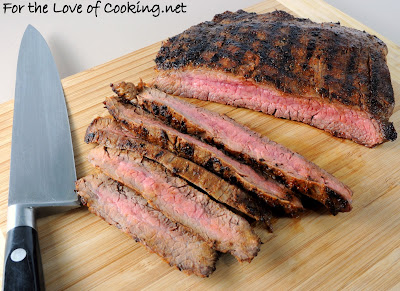 Blackened Flank Steak