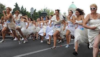 Lomba Lari Berhadiah Pernikahan Impian Di Serbia [ www.BlogApaAja.com ]