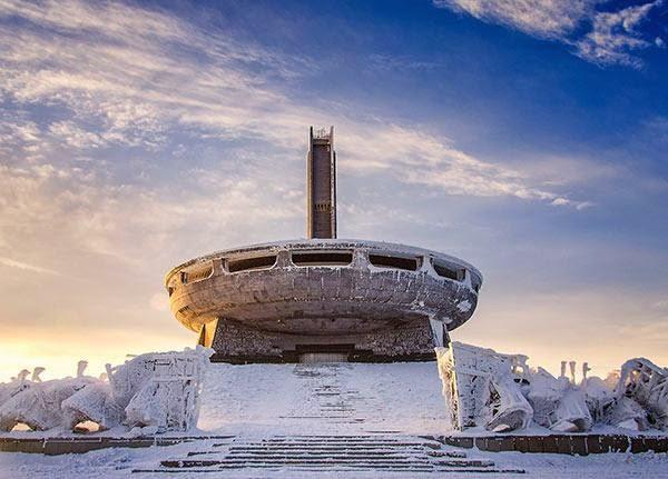 Buzludzha Monument, Bulgaria