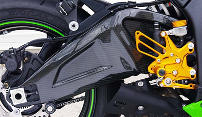 Tips dan Cara Bikin Ninja 250R Lebih Stabil Dengan Swing Arm Racing