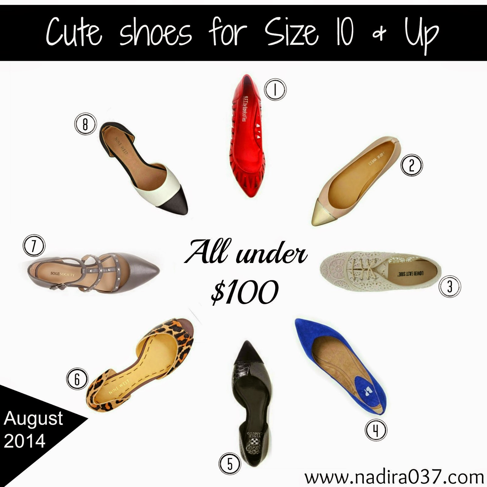 Cute Shoes For Big Feet | Size