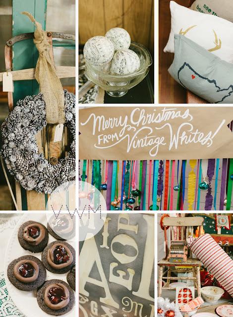Vintage Whites Christmas Market at www.vintagewhitesblog.com