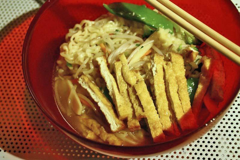 Yasai Noodle soup