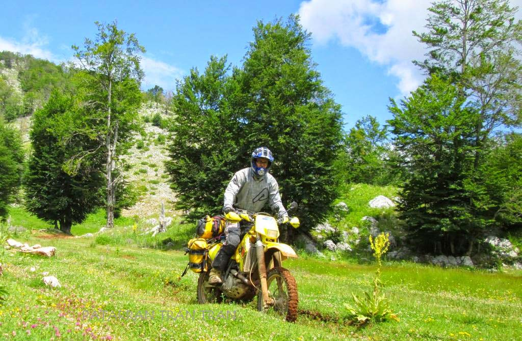 DRZ 400, Suzuki, Trail, Trail forever, Balcanes,