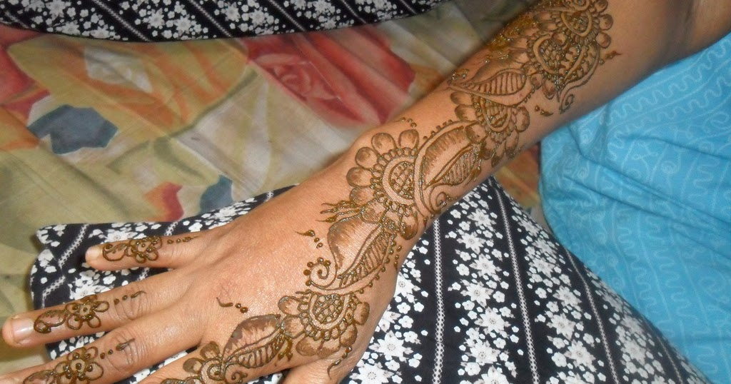 Modern Arabic Mehndi Designs 2014 : Mehndi designs patterns images book for hand dresses