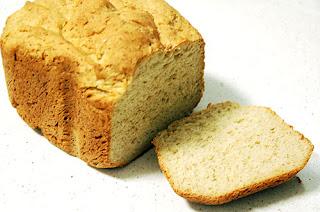 Pan integral de avena en panificadora