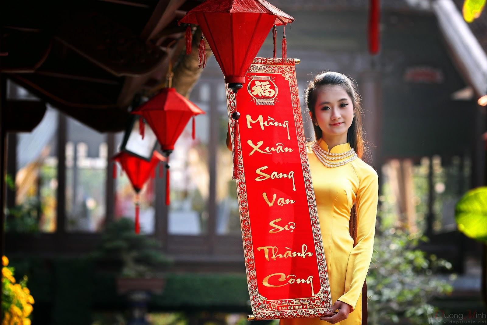 Ảnh đẹp girl xinh Áo dài truyền thống Việt Nam - Ảnh 15