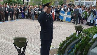 28η Οκτωβρίου 2012 κατάθεση στεφάνων στη Θήβα