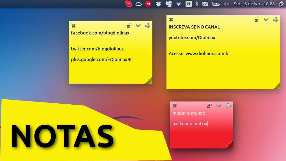 Notas Autoadesivas para Ubuntu