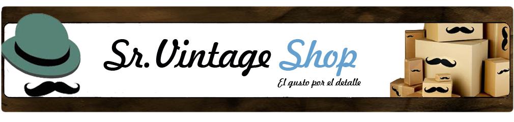 Sr-Vintage Shop // Tienda de decoración Vintage Retro Chic