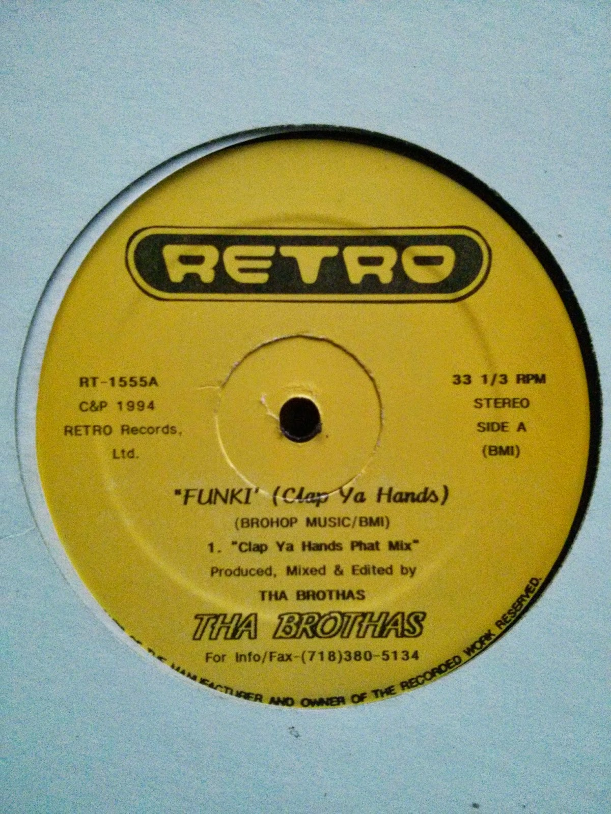 Tha Brothas - (No Date) Funky (Clap Ya Hands) (VLS) (320)