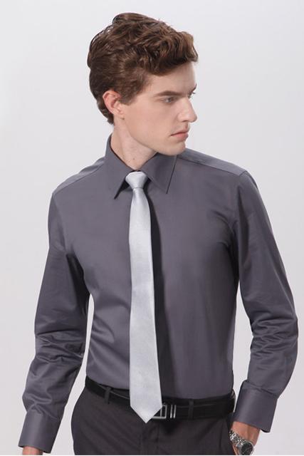 Gray thick shirt