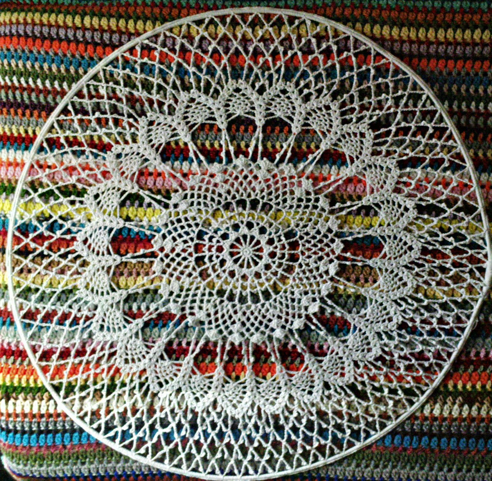 Bonito Crochet Patrón Doily Colección de Imágenes - Manta de Tejer ...