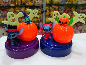 Disney Sega Halloween Stitch & Scrump Light Up Figures