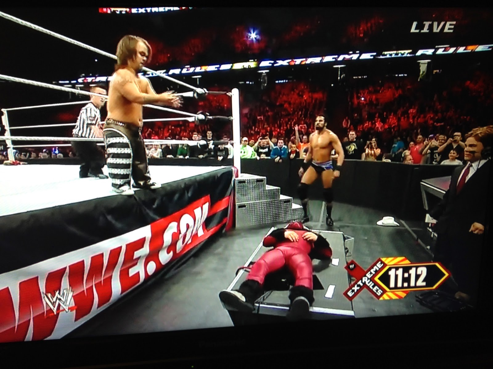 Wwe extreme rules 2013 ppv results html autos weblog
