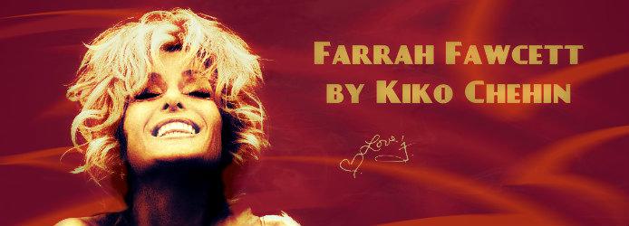 Farrah Fawcett by Kiko Chehin