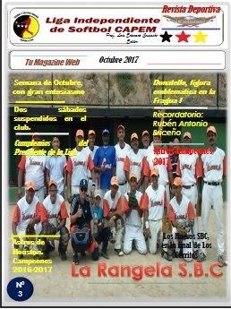 Revista Deportiva CAPEM Octubre 2017 Nº 3