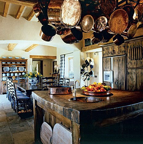 Country Kitchen Color Schemes