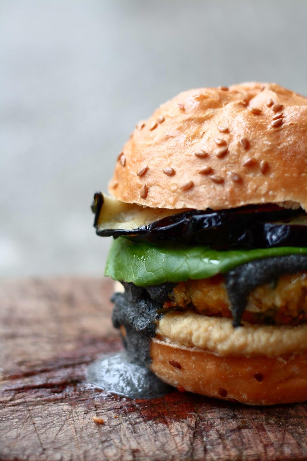 Falafel burgers - Blogs de cuisine