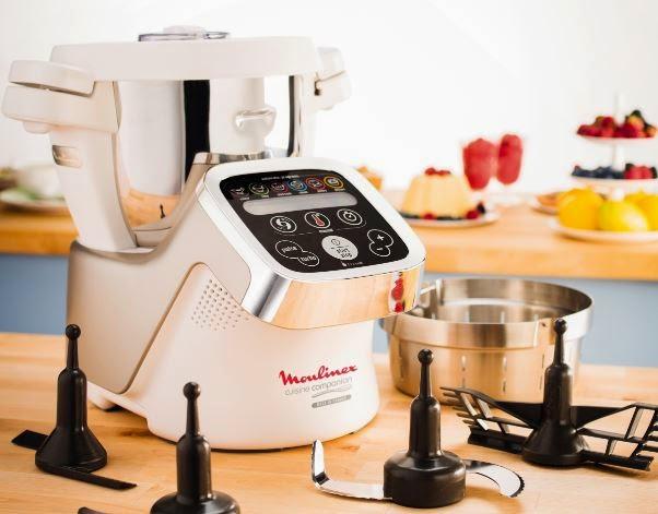 Golden backstage moulinex presenta il robot da cucina - Prezzo robot da cucina moulinex ...