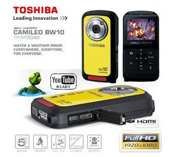 Sport-Camcorder Toshiba Camileo BW10 bei iBood für 75,90 Euro inklusive Versandkosten