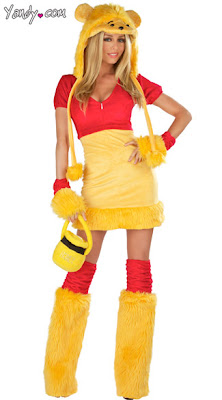 Sexy Disney Halloween costumes to roll your eyes at - Winnie the Pooh