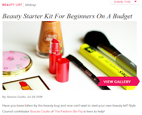 Beauty Starter Kit For Beginners On A Budget