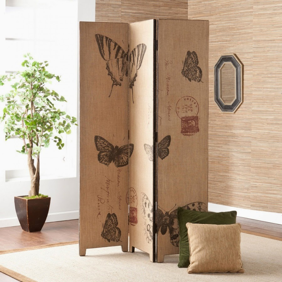 Nice Buterfly Folding Room Dividers