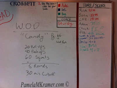 Crossfit Candy WOD