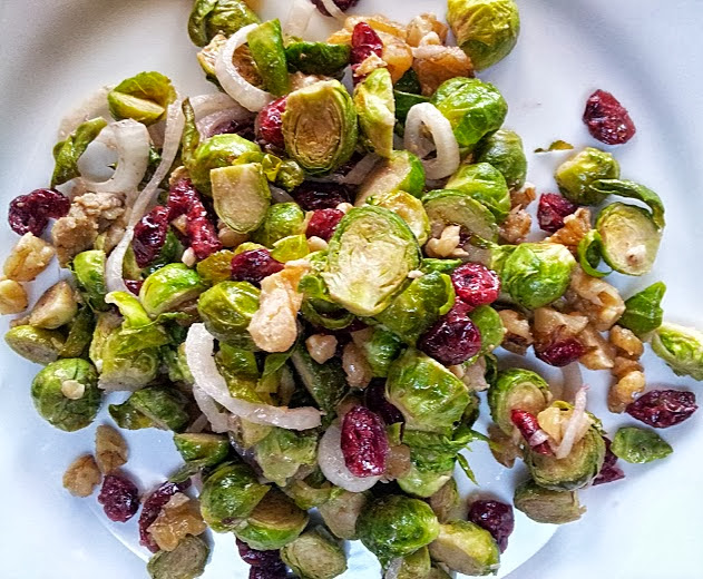 Napa Farmhouse 1885 Roasted Brussels Sprouts Salad With