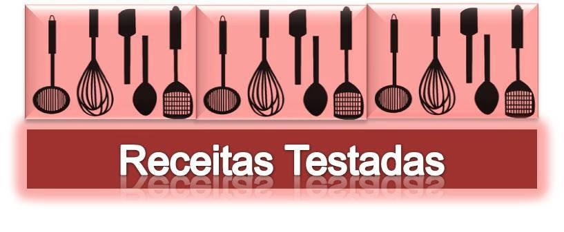 RECEITAS TESTADAS